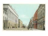 Charleston Hotel and Meeting Street, Charleston, South Carolina Posters