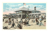 Beach at Newport, Rhode Island Prints