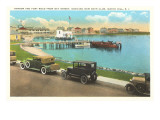 Harbor, Watch Hill, Rhode Island Posters