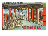 Greetings from Danville, Virginia Art