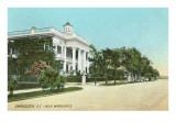 Villa Marguerite, Charleston, South Carolina Posters