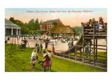 Playground, Golden Gate Park, San Francisco, California Prints
