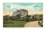 Commodore James Residence, Newport, Rhode Island Print
