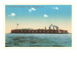 Ft. Sumter, Charleston, SC Art Print