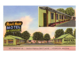 Ranch House Vintage Motel Posters