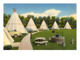 Wigwam Village Motel Art