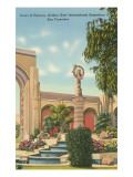 San Francisco World's Fair, Court of Flowers Prints