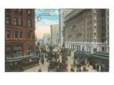 Vintage San Francisco Street Scene Posters