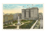 Hôtel St. Francis, Union Square, San Francisco, Californie Posters