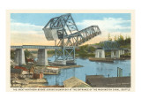 Lift Bridge, Seattle, Washington Prints