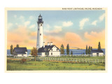 Wind Point Lighthouse, Racine, Wisconsin Art
