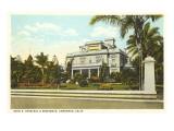Spreckels Residence, Coronado, San Diego, California Posters