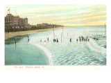 Shore, Virginia Beach, Virginia Premium Giclee Print