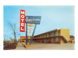 Americana Vintage Motel Posters