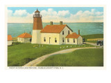 Pt. Judith-Leuchtturm, Narragansett Pier, Rhode Island Poster