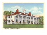 Washington's Mansion, Mt. Vernon, Virginia Prints