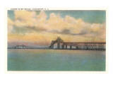 Cooper River Bridge, Charleston, South Carolina Posters
