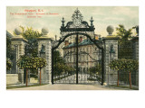 Entrance to the Breakers, Newport, Rhode Island Posters