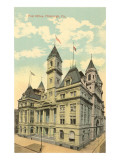 Post Office, Pittsburgh, Pennsylvania Prints