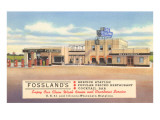 Fossland's Service Station Posters