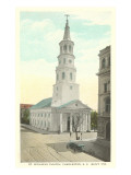St. Michael's Church, Charleston, South Carolina Prints