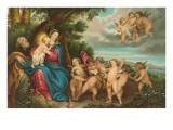 Flight to Egypt by Van Dyck, Florence Prints