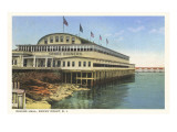 Dining Hall, Rocky Point, Rhode Island Prints