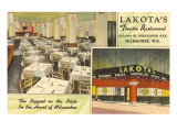 Lakota's Theatre Restaurant, Milwaukee, Wisconsin Posters