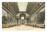 Interior, Versailles Palace, France Prints