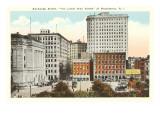 Exchange Street, Providence, Rhode Island Prints