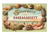 Souvenir from Narragansett, Rhode Island Posters