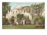 The Onthank Home, Beaufort, South Carolina Art