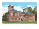 Stratford Hall, Fredericksburg, Virginia Poster