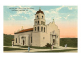 Church, Old Town, San Diego, California Print