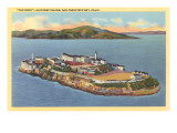 Alcatraz, San Francisco, California Affiche