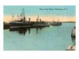 Navy Dockyard, Charleston, South Carolina Prints