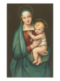 Madonna of the Granduca by Raphael, Florence Prints