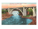 Monroe Street Bridge, Spokane, Washington Posters