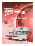 Fire-Ball Travel Trailer Prints