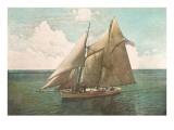 Top-Sail Schooner Posters