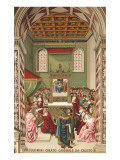 Pope Callixtus Makes Piccolomini a Cardinal Art