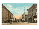 King Street, Madison, Wisconsin Print