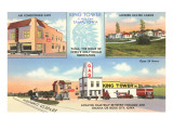 Iowa Tourist Amenities Print