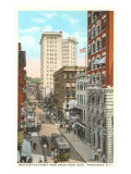 Westminster Street, Providence, Rhode Island Print