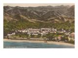 Biltmore Hotel, Santa Barbara, California Print