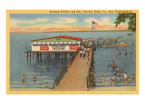 Starlight-Pavillon and Pier, Fairview Beach, Virginia Poster