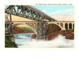 Rapids, Spokane, Washington Prints