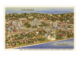 Lake Mendota, Lake Monona, Madison, Wisconsin Prints