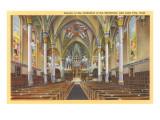 Cathedral of the Madeleine, Salt Lake City, Utah Prints