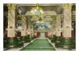 Lobby, U. S. Grant Hotel, San Diego, California Prints